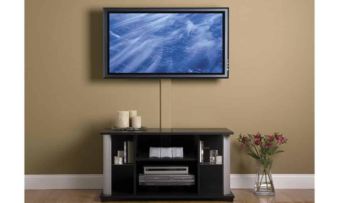 Маскировка проводов от телевизора в кабель-канал