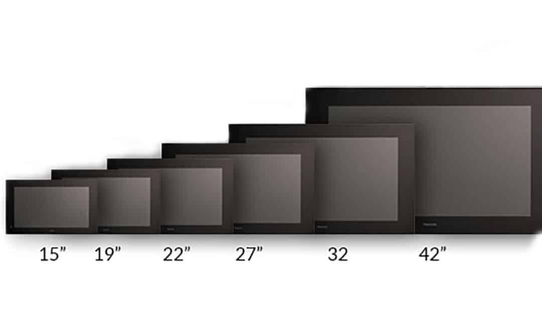 Разные диагонали телевизоров