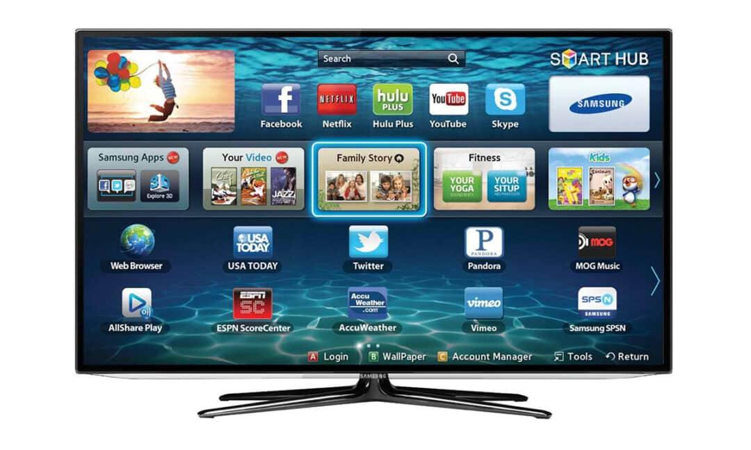 Smart-TV на телевизоре